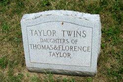 Twins of Thomas & Florence Taylor