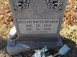 Beulah <i>Hayes</i> Booker