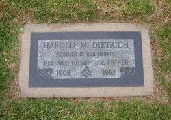 Harold M Dietrich