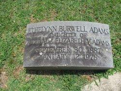 Ethelynn Burwell Adams