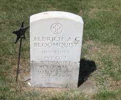 Aldrich A C Bloomquist
