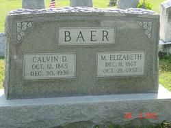 M. Elizabeth <i>Francis</i> Baer