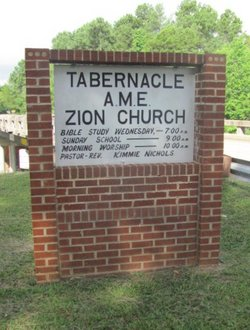Tabernacle AME Zion Church Cemetery