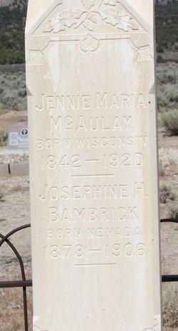 Josephine M. <i>Harrison</i> Bambrick