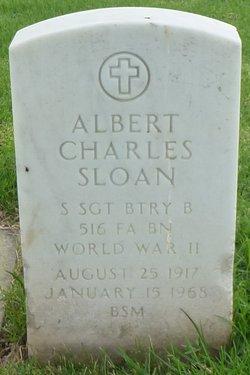 Albert <i>Charles</i> Sloan