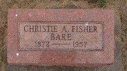 Christie A <i>Fisher</i> Bare