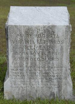 Mary August Virginia <i>Clark</i> Bethards