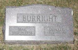 Donald Milton Burright