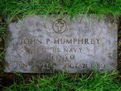 John P Humphrey
