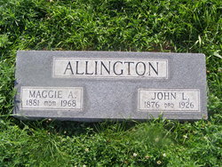 Margaret Alice Maggie <i>Richardson</i> Allington