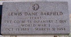Lewis Dane Barfield