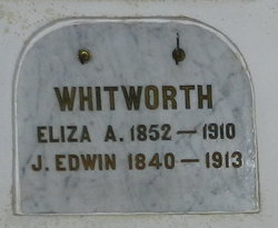 Eliza Adaline <i>McMillan</i> Whitworth