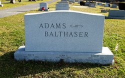 Alma E. <i>Adams</i> Balthaser