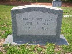 Eugenia <i>Fore</i> Buck