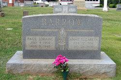 Annie Elizabeth <i>Parrish</i> Barrow