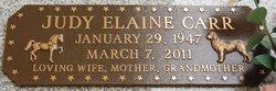 Judy Elaine <i>Stannard</i> Carr
