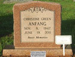 Christine Green Christa <i>Hart</i> Anfang