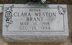 Clara Alice <i>Galloway</i> Brant