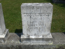 Mary Ella <i>Barbeau</i> Avore