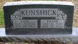 Catherine <i>Schmidt</i> Kunshick