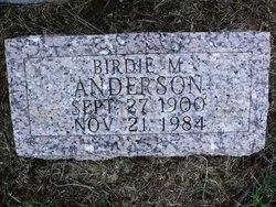Birdie Mae <i>Bronaugh</i> Anderson