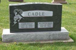 Mildred <i>Hall</i> Cadle