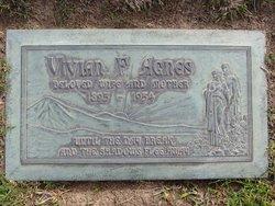 Vivian F <i>May</i> Agnes