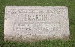 Mabel A. <i>Webster</i> Martin