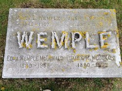 Edna Mary <i>Wemple</i> McDonald