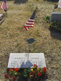 Harold Paul Vance