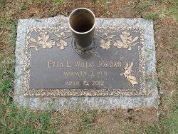 Etta Louise <i>Willis</i> Jordan