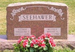 Minnie A <i>Beyrer</i> Seehawer