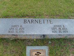 Jennie <i>Ballew</i> Barnette