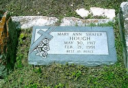 Mary Ann <i>Shafer</i> Hough