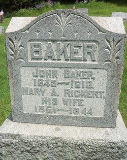 Mary Ann <i>Rickert</i> Baker