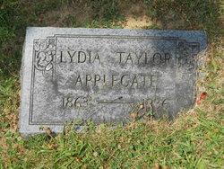 Lydia <i>Taylor</i> Applegate