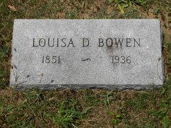Louisa D. Bowen