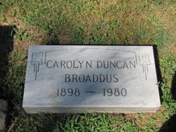 Carolyn Duncan Broaddus