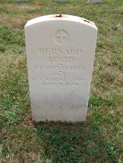 Pvt Bernard Todd