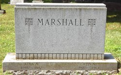 Alma M <i>Berger</i> Marshall
