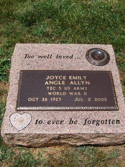 Joyce Emily <i>Angle</i> Allyn