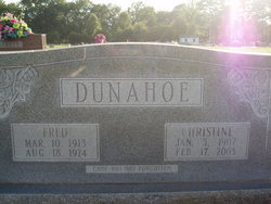 Christine <i>Ridge</i> Dunnahoe
