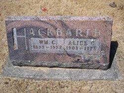 Alice C. <i>Hartman</i> Hackbarth