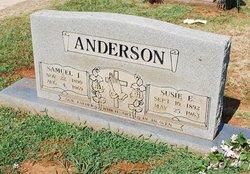 Susie Ella <i>Jemison</i> Anderson