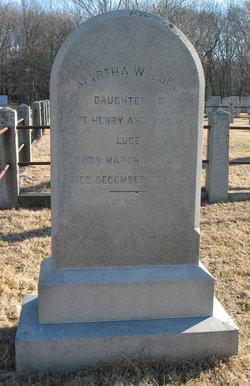Martha W Luce