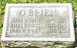 Sarah <i>Wilson</i> O'Brien