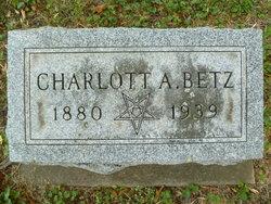Charlott Anna <i>Pohl</i> Betz