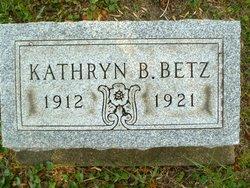 Kathryn B Betz