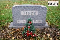 Warren F Fifer, Sr