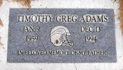 Timothy Greg Adams